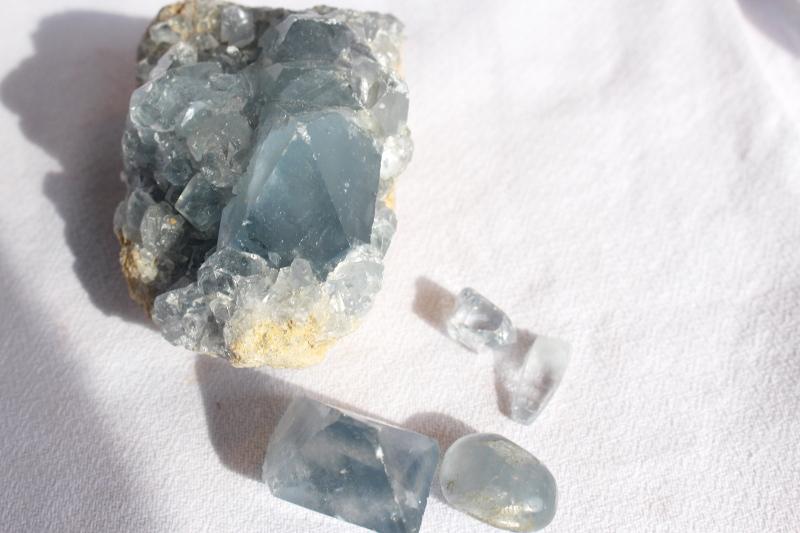 Célestine druze, pierre roulée