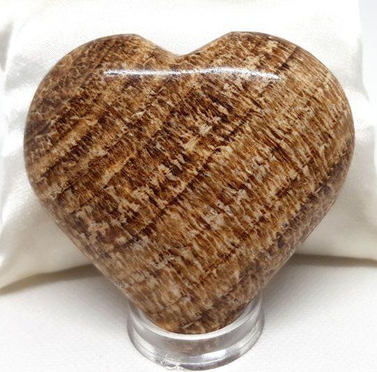 coeur en aragonite