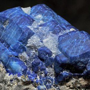 minéraux indigos